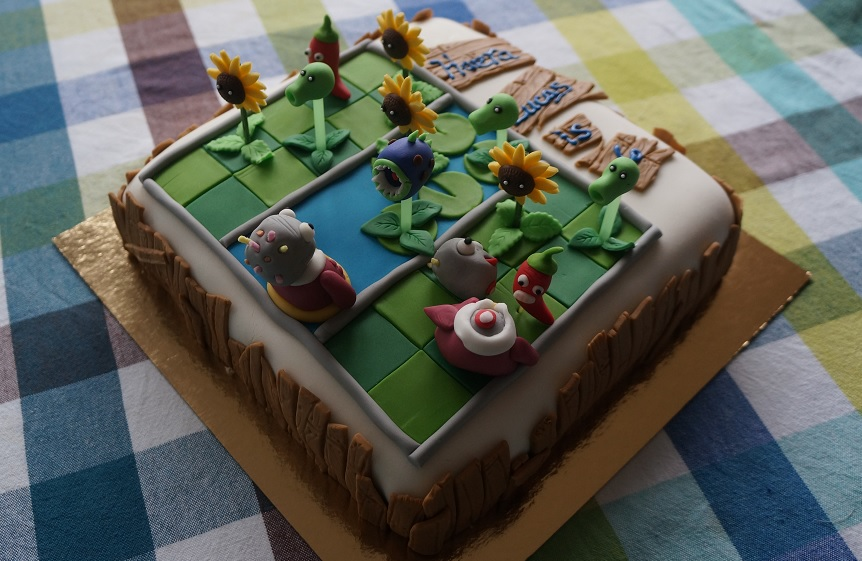 zombie cake small